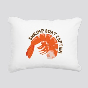 Shrimp Boat Captain Rectangular Canvas Pillow