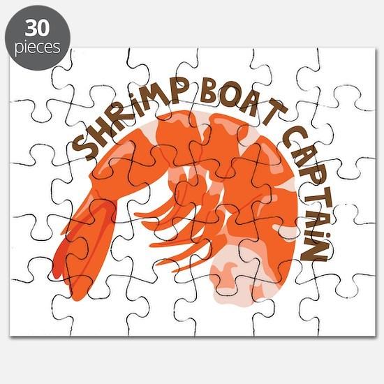 Shrimp Boat Captain Puzzle