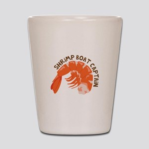 Shrimp Boat Captain Shot Glass