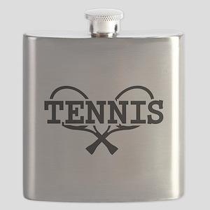 Tennis rackets Flask