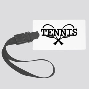 Tennis rackets Large Luggage Tag
