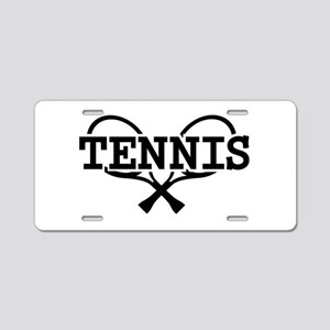 Tennis rackets Aluminum License Plate