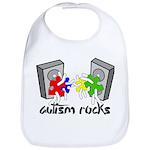 Autism Rocks!! Bib