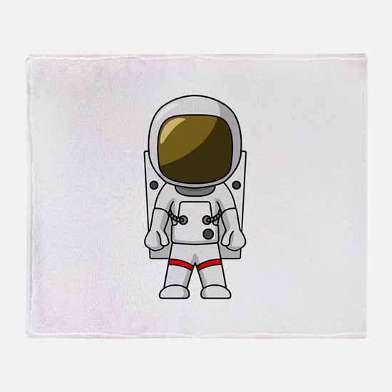 Astronaut Throw Blanket