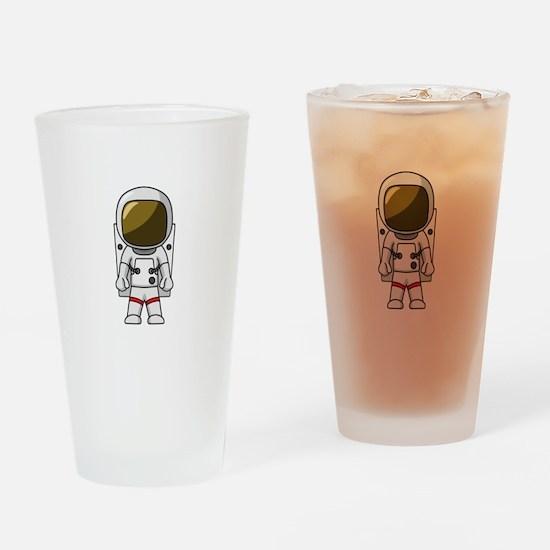 Astronaut Drinking Glass