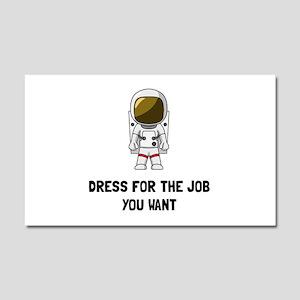 Astronaut Dress Car Magnet 20 x 12