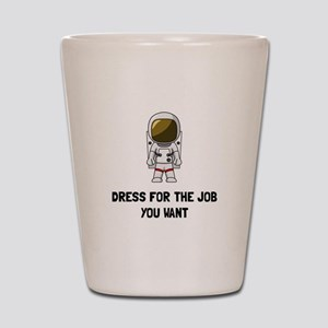 Astronaut Dress Shot Glass