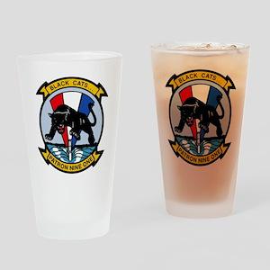 VP 91 Black Cats Drinking Glass