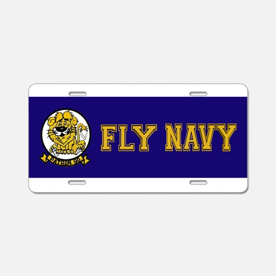 VP 90 Lions Aluminum License Plate