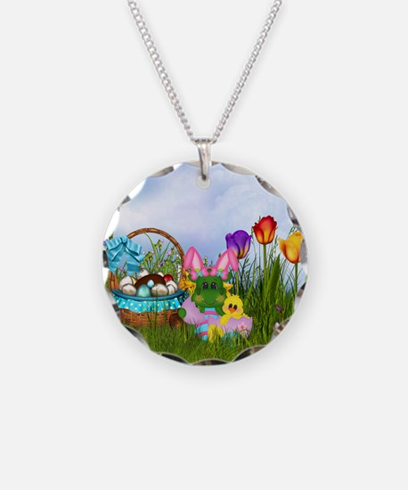 Easter Dragon Necklace