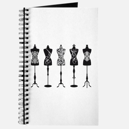 Vintage fashion mannequins Journal