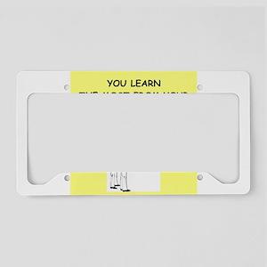 darts License Plate Holder