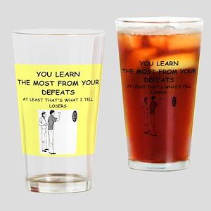 darts Drinking Glass