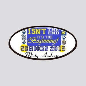 Personalize Seniors 2015 Patches