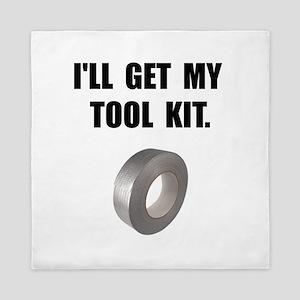 Duct Tape Tool Kit Queen Duvet