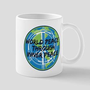 World Peace Through Inner Peace Mug