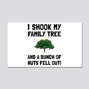 Family Tree Nuts Wall Decal