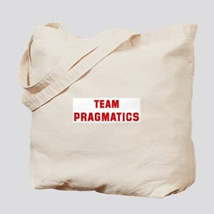 Team PRAGMATICS Tote Bag