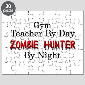 Gym Teacher/Zombie Hunter Puzzle