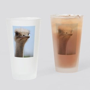Long Necked Ostrich Drinking Glass