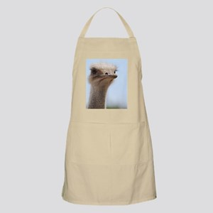 Long Necked Ostrich Apron