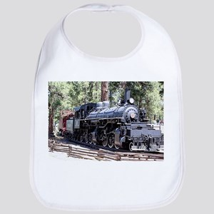 Steam train engine, Flagstaff, Arizona,US Baby Bib
