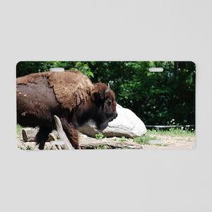North American Buffalo Aluminum License Plate