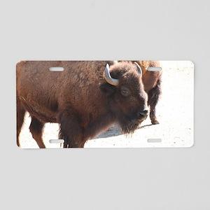 Buffalo Herd Aluminum License Plate