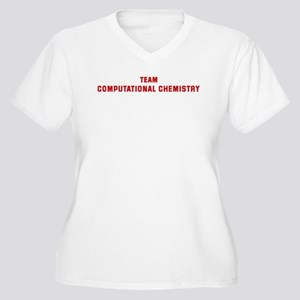 Team COMPUTATIONAL CHEMISTRY Women's Plus Size V-N