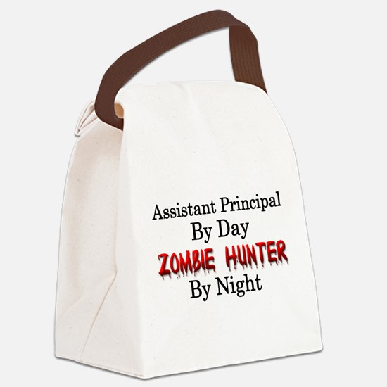 Assistant Principal/Zombie Hunter Canvas Lunch Bag