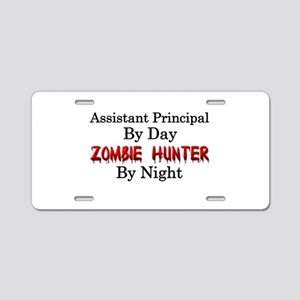 Assistant Principal/Zombie Aluminum License Plate