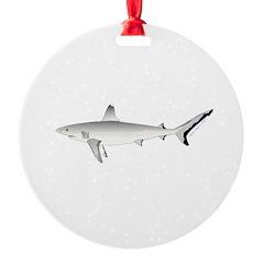 Grey Blacktail Reef Shark Ornament