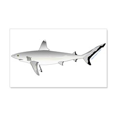 Grey Blacktail Reef Shark Wall Decal