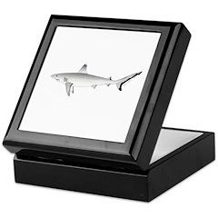 Grey Blacktail Reef Shark Keepsake Box