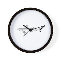 Grey Blacktail Reef Shark Wall Clock