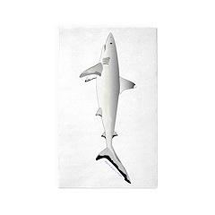 Grey Blacktail Reef Shark 3'x5' Area Rug