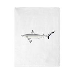 Grey Blacktail Reef Shark Twin Duvet