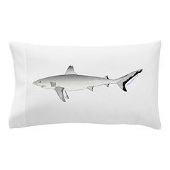 Grey Blacktail Reef Shark Pillow Case