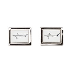 Grey Blacktail Reef Shark Cufflinks