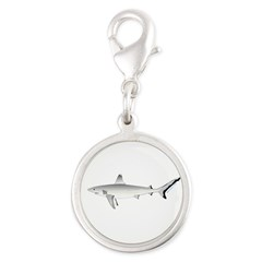 Grey Blacktail Reef Shark Charms