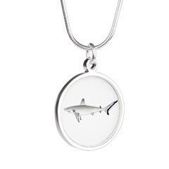 Grey Blacktail Reef Shark Necklaces