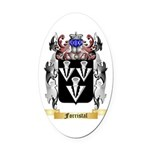 Forristal Oval Car Magnet