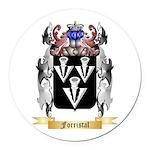 Forristal Round Car Magnet