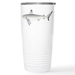 Grey Blacktail Reef Shark c Travel Mug