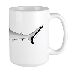 Grey Blacktail Reef Shark c Mugs