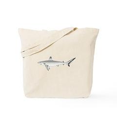 Grey Blacktail Reef Shark c Tote Bag