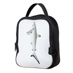 Grey Blacktail Reef Shark c Neoprene Lunch Bag