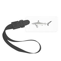 Grey Blacktail Reef Shark c Luggage Tag