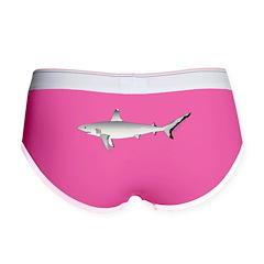 Grey Blacktail Reef Shark c Women's Boy Brief