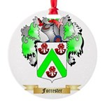 Forrester Round Ornament